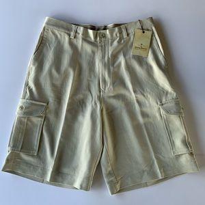 Tommy Bahama NWT 100% Silk Shorts Size 33